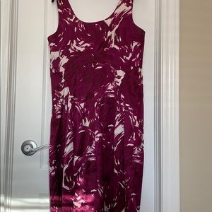 Theory Dresses - Theory pink fuchsia cocktail dress in silk